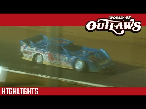 World of Outlaws Craftsman Late Models Tyler County Speedway Park May 28th, 2016 | HIGHLIGHTS