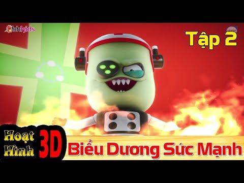 Phim Hoạt Hình Hay Nhất 2018 - Binh Đoàn Người Máy T-Buster- BIỂU DƯƠNG SỨC MẠNH - Phim Hoạt Hình 3D