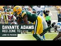 Aaron Rodgers Tosses Red Zone TD to Davante Adams! | Lions vs. Packers | NFL