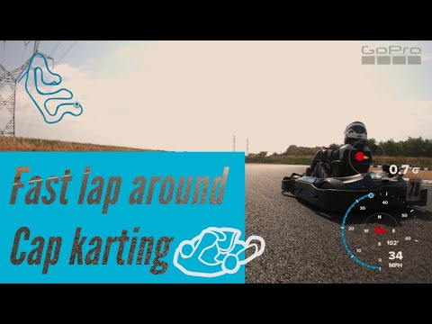 Fastest Lap Of Cap Karting Circuit De Mer