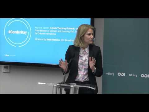 #GenderDay 1 - Helle Thorning-Schmidt