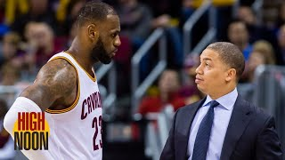 Is Tyronn Lue right to say the Cavs shouldn't have fired him? | High Noon