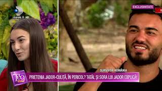 Teo Show(08.02.2021) - Prietenia dintre Jador si Culita, in pericol! Tatal si sora lui Jador explica