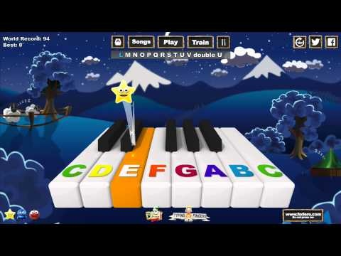 Music Keys - Alphabet Song