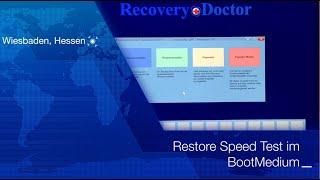 Speed Test: Wiederherstellung im Notfall BootMedium