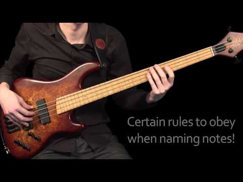 Learn Bass Guitar - Part 1 - Accidentals & Key Signatures