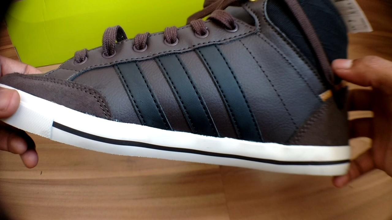 Unboxing Adidas Neo Cacity MID DBROWNCBLACKMESA