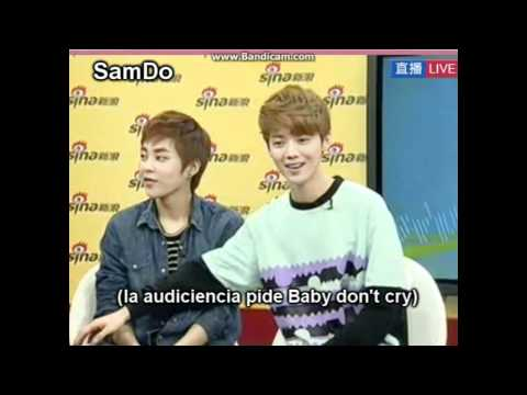 EXO-M Sina Live Chat [Sub Español] 2/5