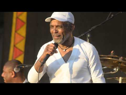 Frankie Beverly and Maze at New Orleans Jazz Fest 2015 05-03-2015 Thankful