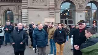 #Merkelmussweg #Mainz - Fragwürdiges Polizeikonzept gegen Linksradikale