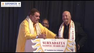 Shri Raza Murad, was invited at SGI's 19th Foundation Day 2017