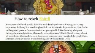 Pilgrimage to Shirdi