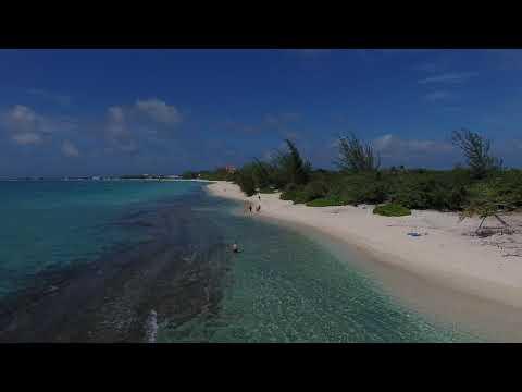 Grand Cayman Island Drone Flight