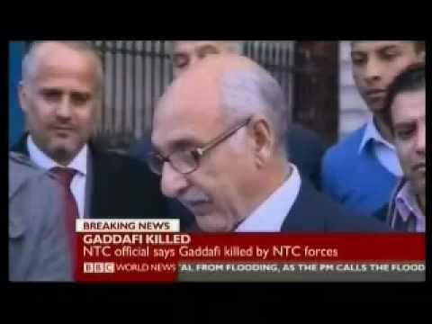 The End of Gaddafi 3 of 5 - Libya & World Response - BBC World News 20.10.2011