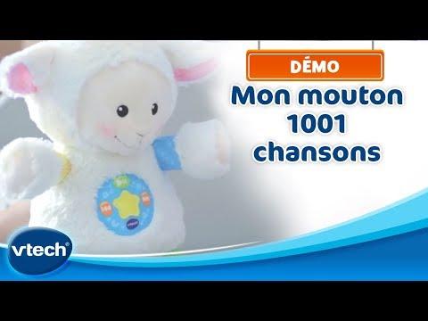Mon mouton 1001 chansons - Un doudou à câliner suit Bébé au fil des années | VTech