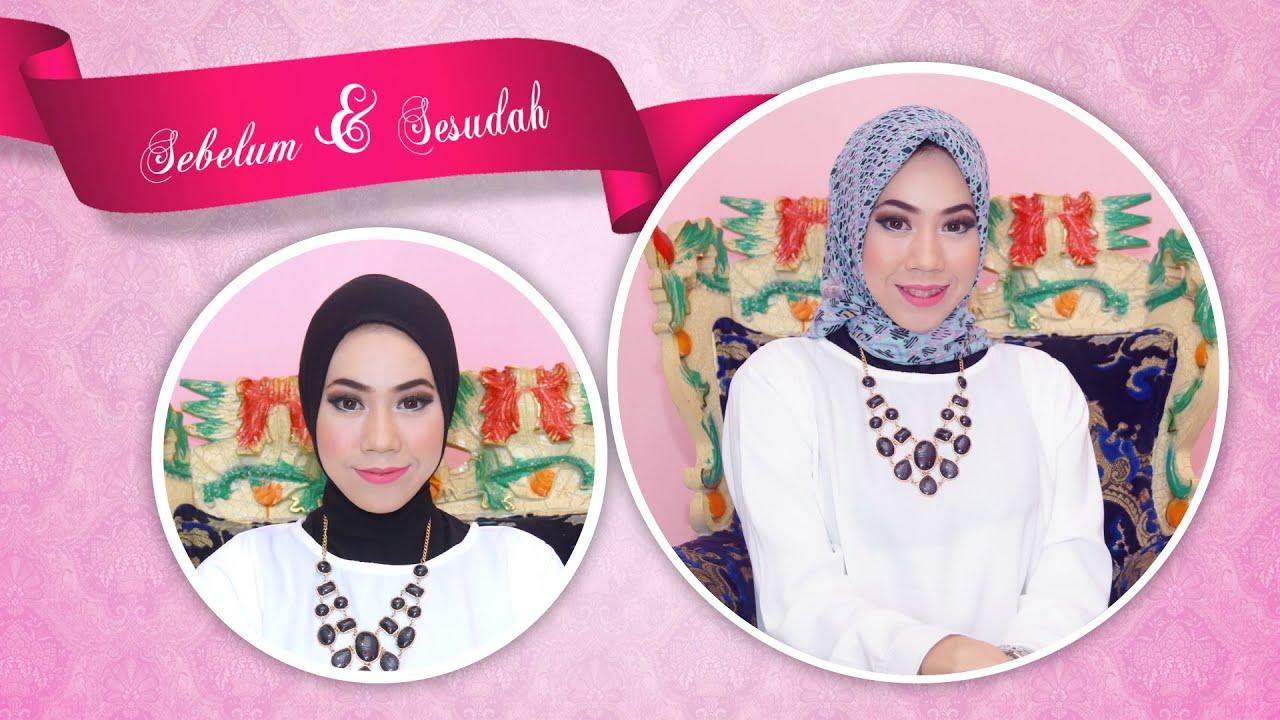 Hijab Sederhana Cara Memakai Kerudung Sederhana YouTube