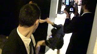 EXCLUSIVE: Kristen Stewart and her friend/agent very funny tripping down incident in Cannes