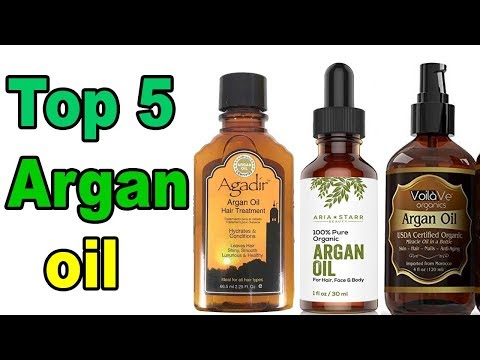 Top 5 Best Argan Oil | Best Oil For Hair Growth  Skin & Face