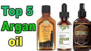 Top 5 Best Argan Oil | Best Oil For Hair Growth, Skin & Face | 2019