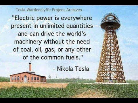 "Nikola Tesla Suppressed Free Energy Conspiracy - ""Control The Energy, Control The People"""