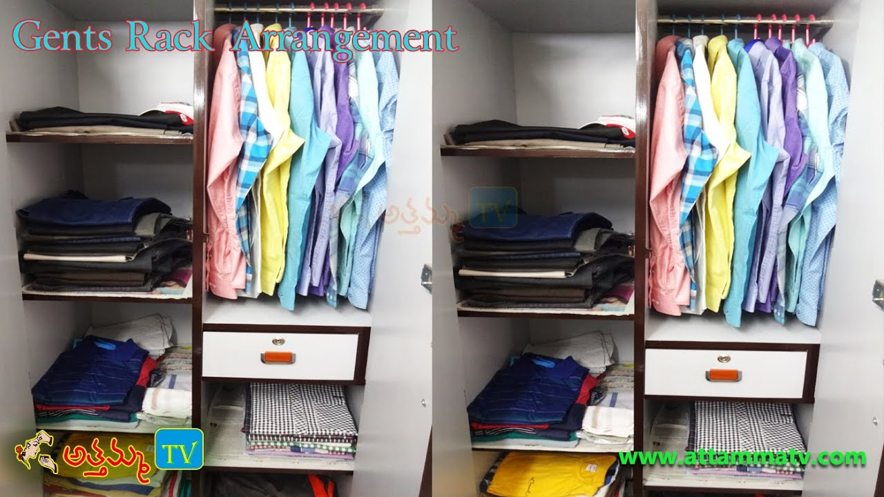 Delightful Organizing Gentsu0027 Closet: How To Organize Menu0027s Wardrobe (Menu0027s Style  Advice) By Attamma TV   YouTube