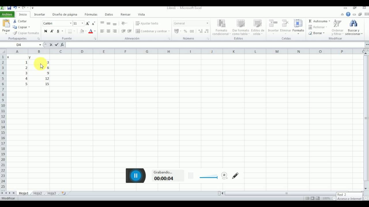 Funcion pendiente en Excel - YouTube