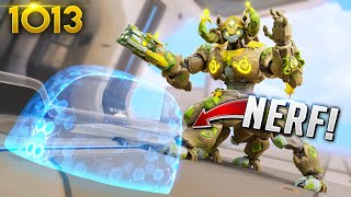 This *NEW* ORISA NERF IS TOO MUCH!!  | Overwatch Daily Moments Ep.1013 (Funny and Random Moments)