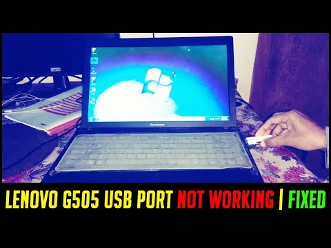LENOVO G505 USB PORT NOT WORKING | FIXED | How to fix Laptop USB 3 0 Not  Working & Install Driver