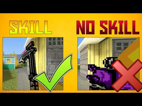 TOP 10 WEAPONS In Pixel Gun 3D That REALLY TAKE SKILL TO USE!