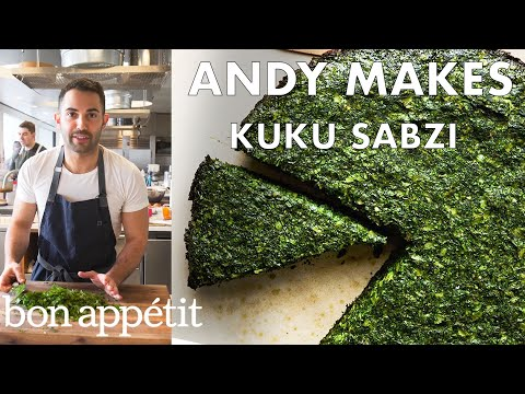 Celebrate the Persian New Year with Herby Kuku Sabzi | From the Test Kitchen | Bon Appetit