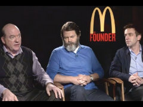 John Carroll Lynch, Nick Offerman & B. J. Novak: THE FOUNDER