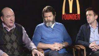 John Carroll Lynch, Nick Offerman & B. J. Novak: THE FOUNDER