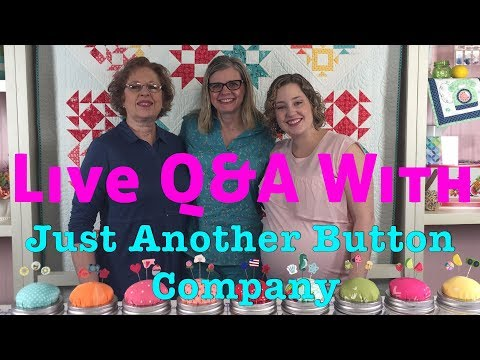 Behind the Seams: Q&A with Just Another Button Company and Kimberly | Fat Quarter Shop