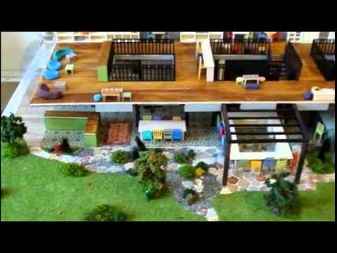 Model For Architects Of A Restaurant Interior Design Models YouTube Custom Images Of Interior Design Model