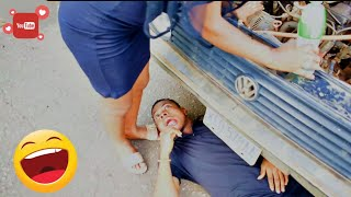 WORLD BEST MECHANIC Mark Angel Comedy Episode 208  East Comedy