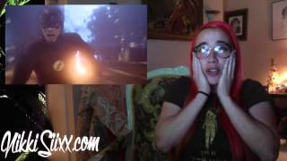 nikkisiixx reacts to arrow s4 ep8 legends of yesterday part 2 of flash crossover