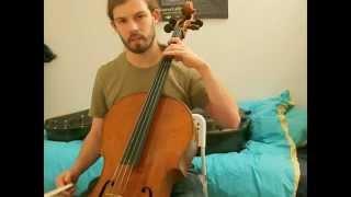 [cello-rock for dummies] Enter Sandman (Metallica) tutorial