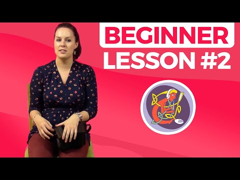 Concertina Lesson 2 [The Basics] Maggie In The Woods 🎵🎵