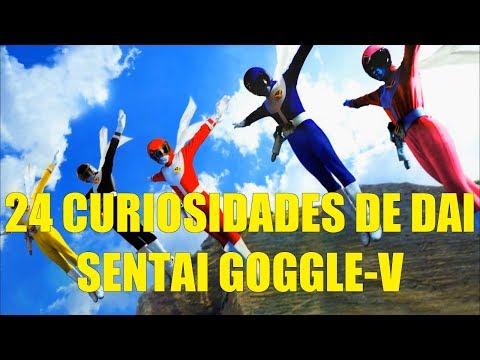 24 Curiosidades de Dai Sentai Goggle V Super Sentai 6  Power Rangers Japoneses