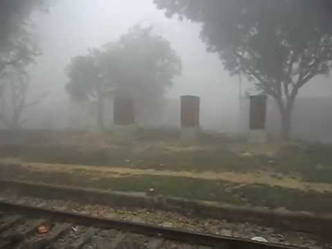 WDP-4D Shramjeevi Express Cutting Dense Fog And Doing High Speed