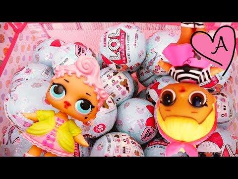 Juguetes como huevos sopresa con bebes de juguete y sorpresas divertidas - Muñecas L.O.L. Surprise