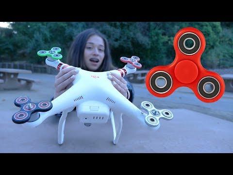 ¡UN DRONE HECHO DE FIDGET SPINNERS! | ¿Puede Volar? (BayBaeBoy Vlogs)