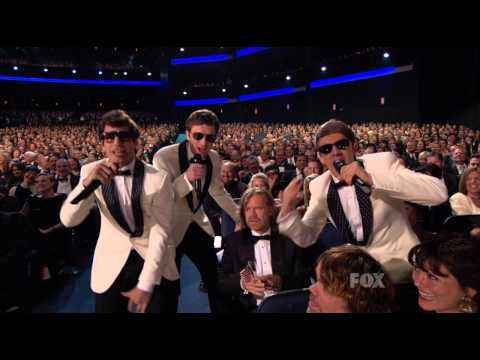 The Lonely Island feat Michael Bolton and Akon   Medley 63rd annual primetime emmy awards 720p