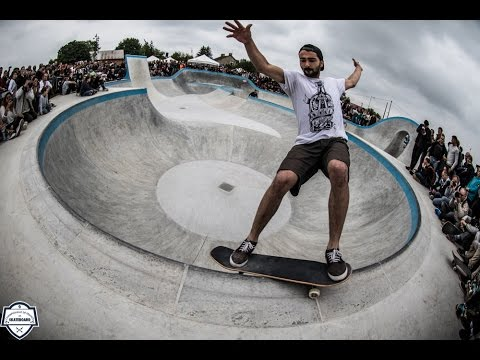 Châteauroux France Skateboard Street et Bowl 2016