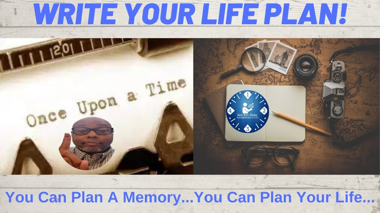 Write Your Life Plan