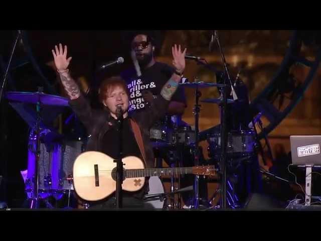 Ed Sheeran & The Roots- Sing