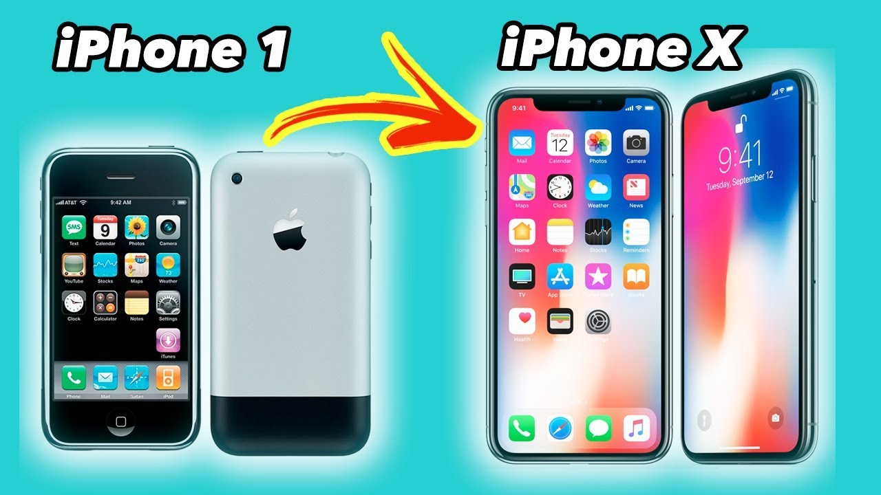 iphone x 10 a os de evoluci n del iphone youtube. Black Bedroom Furniture Sets. Home Design Ideas