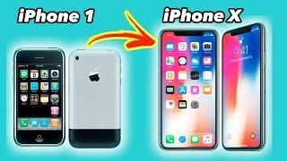 IPhone X  10 Años De Evolución Del IPhone