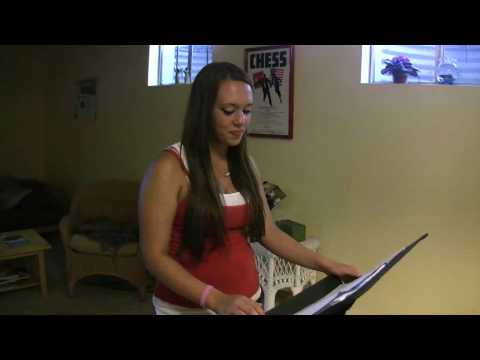 COURTNEY BROWN PREPARES FOR AMERICAN IDOL TRYOUT