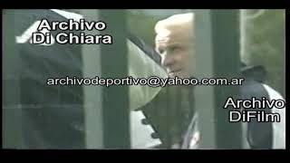 LIGA DE ITALIA DE FUTBOL ENTRENA LA FIORENTINA CON BASTITUTA V 00487 1999 DiFilm